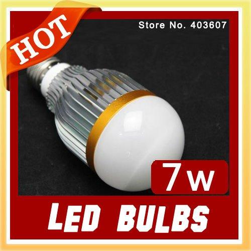 Wholesale LED bulb led lamps WARM WHITE 7W High Power Aluminum Led Light Lamp,Free sample wholesale