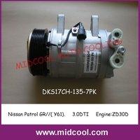 AUTO AC  COMPRESSOR FOR NISSAN PATROL GR//(Y61)