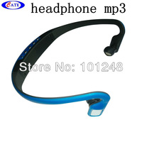 10pcs/lot Hot Sale!!! Brand New Wireless Portable Wrap Around Headphones Sport MP3 Player Headset TF Card Player Free shipping