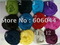 10pcs/lot HOT Sale Cotton Wrinkle Shawl Solid Color Linen Wrinkle Scarf mixed Colors for Wholesale
