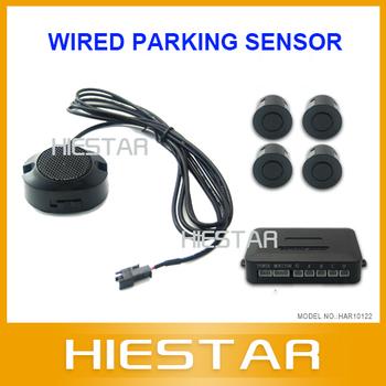 Wired Parking Sensor Car Parking Sensor 22mm With Buzzer 12v black red gray sliver gold blue white sensor FreeShipping