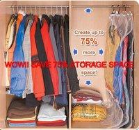Hanging space saving bag & Travelling space saving  bags combo pack,