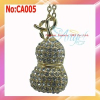 1GB-64GB Gourd Style Crystal USB Flash Drive,Gift USB Drive +Free shipping #CA005