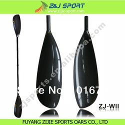 Carbon fiber oval split shaft kayak paddle(China (Mainland))