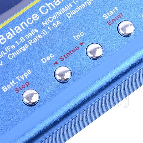 IMAX B6 AC Lipo NiMH Battery Balance Charger / Discharger 3S 4S 5S 11.1V 7.4V-22.2V  10002