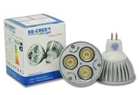 Free Shipping 10Pcs/lot Warm /Cool White LED CREE MR16 12W VS 70W / 9W VS 50W / 6W VS 35W Led Light 12V
