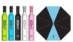 UPS Free Shipping 48pcs/lot Quality Goods New fashion Bottle umbrella Wine umbrella sunshade Solar umbrella(China (Mainland))