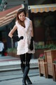 Guaranteed 100% rabbit Free shipping Free customer logo.rabbit fur vest