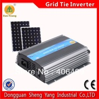 10.5-28Vdc input 90-140Vac pure sine wave output stackable 500W 110v solar power inverter