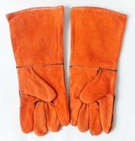 "Free shipping BOSI 15"" safety GLOVES,welding gloves,china top brand"
