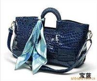 Free shipping/Wholesale High Fashion patent bags/ladies bags /designer handbags