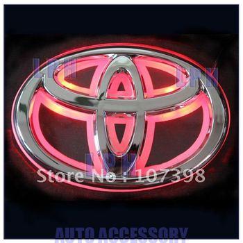single color,car logo light for TOYOTA Crolla/Vios/Highlander,car badge light,auto led light,auto emblem led lamp