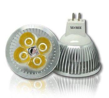 4 Pcs/Lot Dimmable GU5.3 MR16 15W VS 90W 12W VS 70W / 9W VS 50W Warm Cool White LED Spot Spotlight Downlight 12V or 110V 220V
