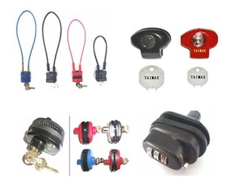Colorful Cable  Lock TG6000  8 inch