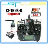Free Shipping 2.4G 9ch system Flysky FS rc radio Transmitter & Receiver Combo  9ch remtoe control FS-TH9X TH9XB TX + RX 2014