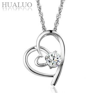 Wholesale Retail for 925 Sterling Silver Pendant, 925 sterling silver Heart Pendant