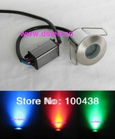 IP67,CE,high quality,high power 3W LED RGB inground light,Edison chip, RGB 3in1,5V DC,DS-11-1-3W-RGB,controllable,dimmable