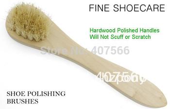 Shoe Polishing Brush, Hard wood Sponge Cleaning shoe Brush