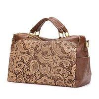 Gentlewomen Series Lace 2 ways Handbag Shoulder Bag Woman's Tote Free Shipping