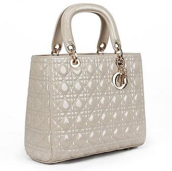 Promotion Bag!!Lady's Handbag Quilted PU Patent Leather Shoulder Bag M&S