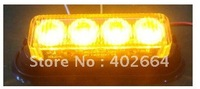 LED Emergency Warning Light SL620+Gen-3 1W LED+Being synchronized+19 patterns+12V or 24V DC+Waterproof