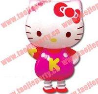 hot sale 50pcs/lot free shipping  walking pet balloon,hello kitty walking balloon