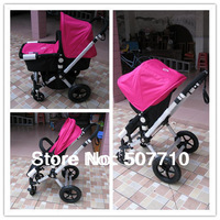 Good serivce, Good quality including shippment fee,Bugaboo Cameleon stroller with lovely dark-pink color suitable for baby girl