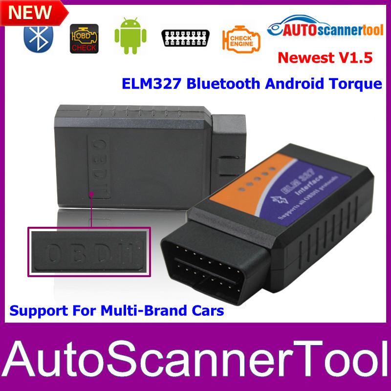 2014 elm327 obdii bluetooth odb2 interfaccia diagnostica scanner, olmo