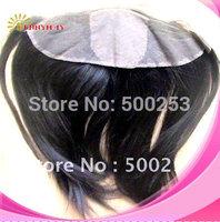 "Brazilian Virgin Hair Silk Top Frontal Soft Yaki (4""x13"") Natural Color"