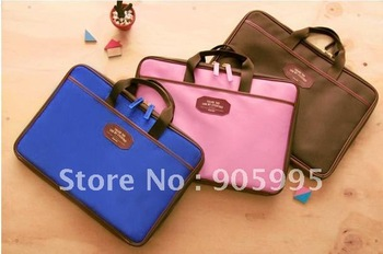 Hot sell Free shipping  Lapto case  Notebook bag  Computer bag (can hold 13 inch) 3 color   Retail or Wholesale  A03-1-001