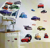 [funlife]-Children Room Pixar Cars Art Mural Wall Decor Decals decorative stickers