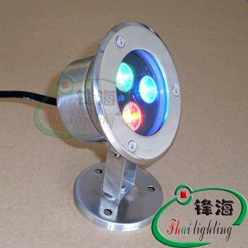 Подводное освещение Fhailighting 3X1W ,  2 FH-SC110-3W