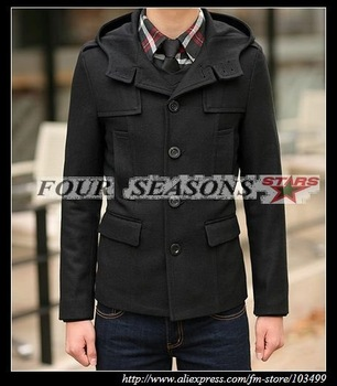Latest Style Man's Wind Coat,Popular Men's Coat Free Shipping