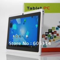 "7"" Capacitive 5-point Google Android 4.0.4 4GB allwinner A13 Q88 Dual camera Tablet PC"