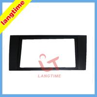 Free shipping--Car refitting DVD frame,DVD panel,Dash Kit,Fascia,Radio Frame,Audio frame for 00-04 Audi A4 ,2DIN
