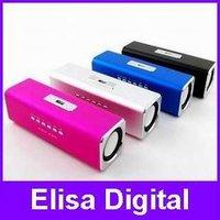 Free shipping 100% original Music Angel for mini stereo speaker MAUK2 micro SD/TF/U Disk /FM radio/MP3 Speaker Sound,RY51