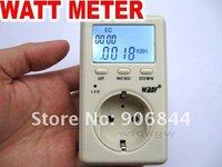 Power Meter  WATT Power Energy kwh Voltage Meter Monitor Free Shipping