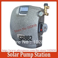 double pipeline Solar Pump Station SR882,dateloggin on memory card controller integrated,EPP cover,CE