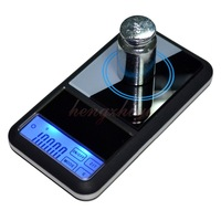 Touch Screen Mini Pocket Electronic 500g x 0.1g Jewelry Gram Balance Weight Digital Scale with Counting Function, Carat Scale