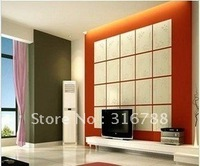 New arrival decorative 3d wall board wallpaper for TV background or showroom