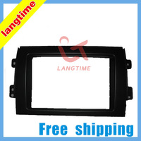 Free shipping-Car refitting DVD frame,DVD panel,Dash Kit,Fascia,Radio Frame,Audio frame for 2010 SUZUKI SX4,2DIN