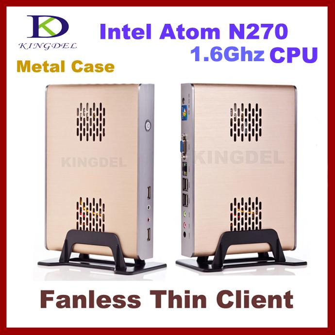 KINGDELNewest Windows XPE Thin Client Terminal, Mini Desktop PC with Atom N270 1.6Ghz, 80GB HDD(Hong Kong)