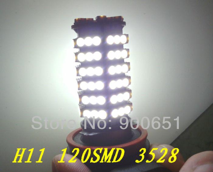 Система освещения Oem ! 12v H11 120SMD3528 , система освещения osram 12v 3700 k 9006nbp 51w hb4