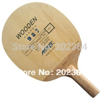 Free Shipping, Galaxy / Milky Way / Yinhe 987 Wooden Fast-Attack OFF Table Tennis Blade (Japanese Penhold) for Ping Pong Racket