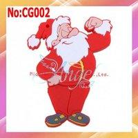 2014 Hot Sale Limited Stock Red Plastic No Usb 2.0 Fast Shipping Wholesale Santa Usb Drive 1gb 16g Christmas Gift Flash #cg002