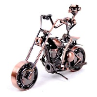 Antique imitation motorcycles iron model 19x7x14cm metal alloy motorbike cast Motorized autocycle motorcycle model