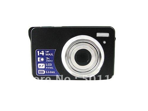 Christma promotion hot selling 3x optical zoom 15MP digital camera DC-K706(China (Mainland))