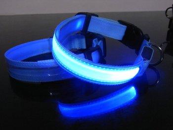 100pcs Pet Dog LED Collar 2013 NEW Flashing model