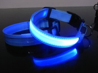 100pcs Pet Dog LED Collar 2013 NEW Flashing model
