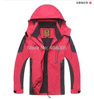 Women's Camel Brand Outdoor Jacket Spring&Autumn Waterproof Windproof Breathable Hikiing Climbing Jackets Sportwear DF8898